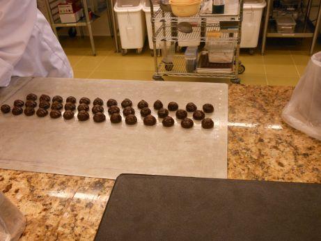 Pre-shaping Truffles